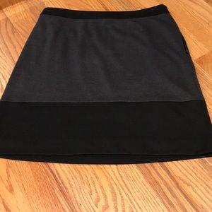 LOFT Skirts - Color blocked short skirt